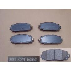 Колодки тормозные передние Great Wall Voleex C30 3501140-G08