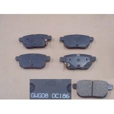 Колодки тормозные задние Great Wall Voleex C10_30_50 Haval M2 (дисковые) 3502340-G08