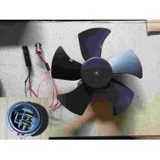 Вентилятор радиатора (разъем папа) Chery Amulet эконом A15-1308010-01-eco