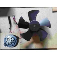 Вентилятор радиатора (разъем мама) Chery Amulet эконом A15-1308010-02-eco