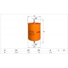 Фильтр топливный Chery ALPHA FILTER B14-1117110-AF