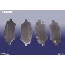 Колодки тормозные передние Chery M11 M11-3501080
