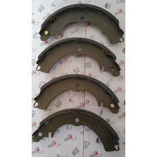 Колодки тормозные задние Chery Kimo_Jaggi KIMIKO (без рычагов) эконом S21-3502080-KM-eco